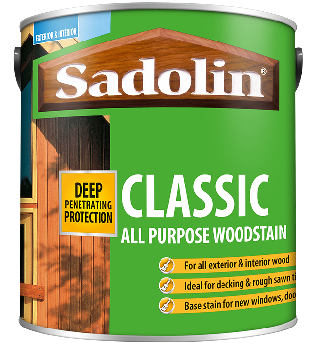 Versatile wood protection from Sadolin Classic