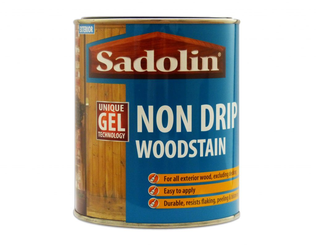 New Pack Size Launch For Sadolin Non Drip Woodstain