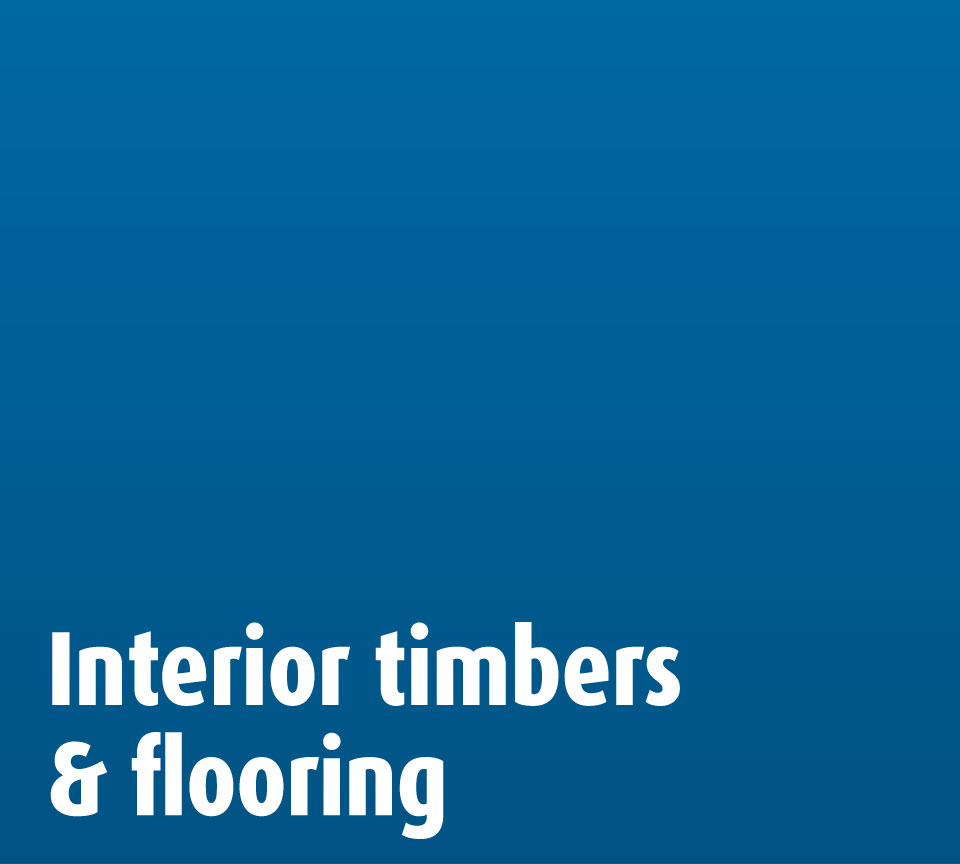 Interior timbers flooring